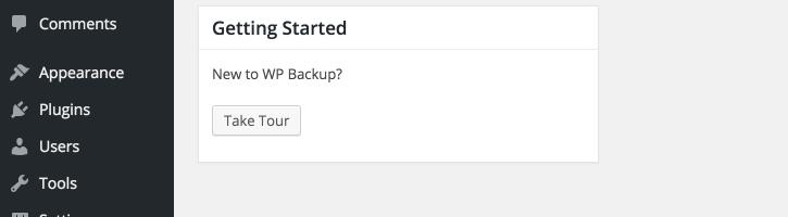 My WP Backup