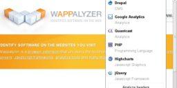 wappalyzer addon